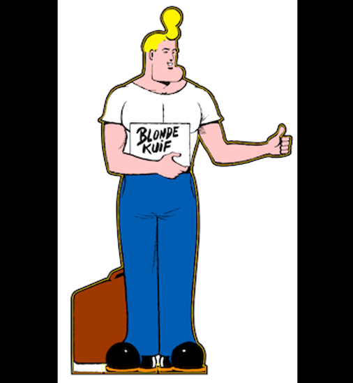 Picture of Life Size Cowboy Henk