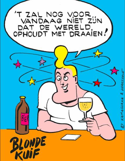 Picture of PROMO Beerbox Blonde Kuif 10x75cl + 2 glazen Gratis