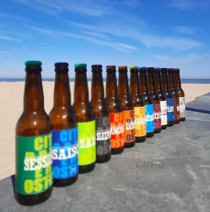 Picture of Ostend Beerbox Koelschip Mix 12x33cl
