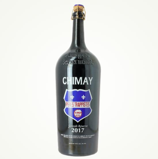 Picture of Chimay MAGNUM Blauw 2017 1,5L + 2 glazen