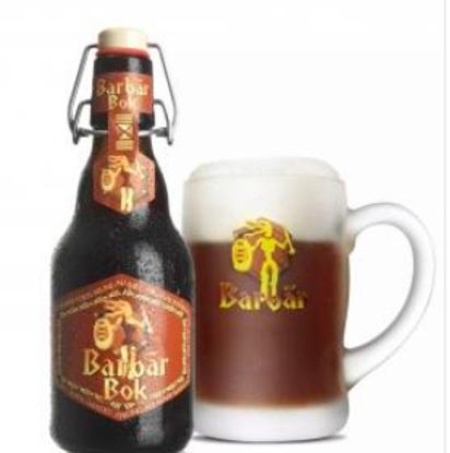 Picture of Barbar BoK 8% 4x33cl + Gratis Glas