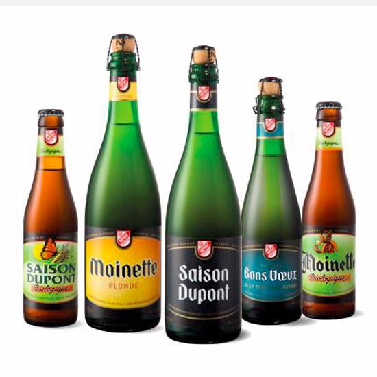 Picture of Brouwerij Dupont Mix 4x75cl + 2 Glazen GRATIS
