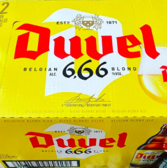 Picture of Duvel 666 12x33cl