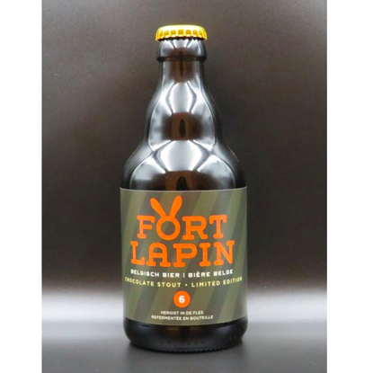 Picture of FORT LAPIN STOUT 6% 24X33CL + 2 GLAZEN