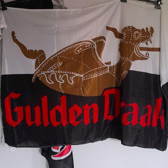 Afbeeldingen van Vlag Gulden draak